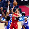 Atlanta Hawks capitalise on 76ers collapse to edge ahead in series
