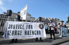 George Nkencho inquest adjourned as demonstrators gather at RDS to 'stand in solidarity' with family