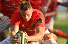 Gavin Coombes named Munster player of the year after superb season
