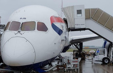 British Airways plane damaged after tipping on to nose at Heathrow