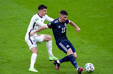 'He has got a huge future ahead of him' -  Praise for Scotland's Gilmour after display against England