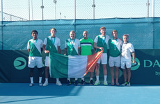 Ireland seal Davis Cup promotion after play-off victory over Georgia