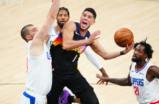 Booker's 40-point triple-double gives Suns edge over Clippers