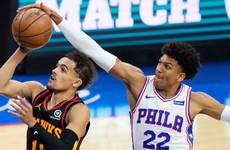 Atlanta Hawks stun Philadelphia 76ers to advance to Eastern Conference finals