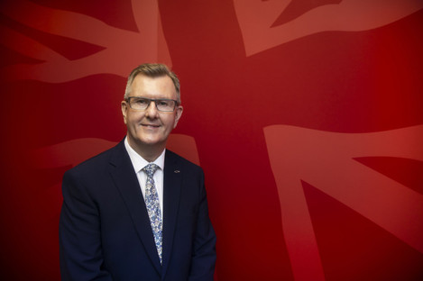 Donaldson narrowly lost to Edwin Poots in the first leadership contest in the DUP's history last month.