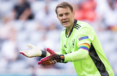 Uefa action over Neuer's rainbow armband would have been 'absurd' - Goretzka