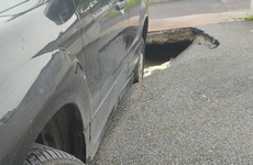 Family forced out of Cork home as sinkhole appears in driveway
