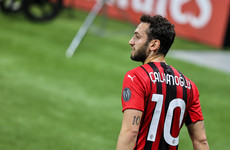 Hakan Calhanoglu to cross the Milan divide by defecting to Inter