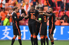 Wijnaldum on the double as Netherlands top Group C with maximum points