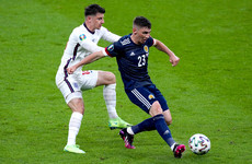 England qualify for last 16 of Euros as confusion reigns over Billy Gilmour Covid case