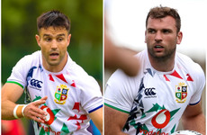 Gatland includes six Irish players in Lions' starting XV against Japan