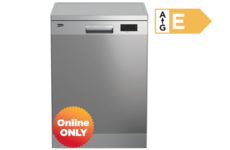 BEKO Full Size Dishwasher- Stainless Steel