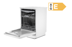 BOSCH Serie 2 Full Size WiFi-Enabled Dishwasher - White