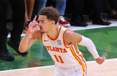 Young scores 48 to power Hawks past Bucks in NBA playoffs