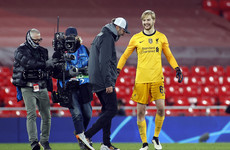 'I can play at that level' - Caoimhín Kelleher signs new long-term deal at Liverpool