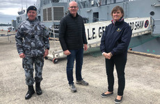 Pop up recruitment centre in Dublin tomorrow for Naval Service to find 200 recruits so ships can go to sea