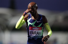 Mo Farah will not defend 10,000m title after failing to qualify for Olympics
