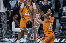 Victory in LA leaves Phoenix Suns on brink of first NBA finals in 28 years