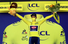 Dutch rider Van der Poel claims yellow jersey after stage 2 win at Tour de France