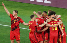Hazard on target as Belgium dump holders Portugal out of Euro 2020