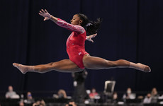 Simone Biles qualifies for Olympics after easy victory in St Louis
