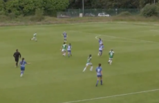 Cork City youngster Alessia Mazzola scores with a stunning long-range strike