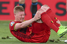 The Football Family on Euro 2020: De Bruyne's fitness will determine outcome of Belgium-Italy