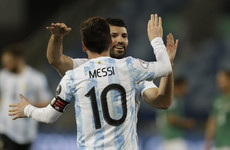 Messi at the double as Argentina trounce Bolivia in Copa America