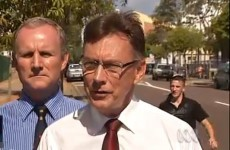 Irish man arrested after kicking Australian politician...while he was being filmed