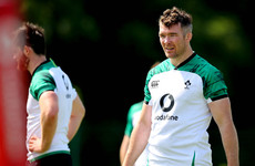 Lions captain Murray 'leads by his actions' - O'Mahony