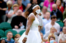 Serena Williams retires injured from first round match at Wimbledon
