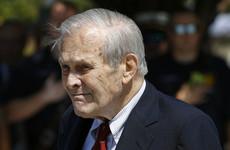 Former US Defense Secretary Donald Rumsfeld dies aged 88