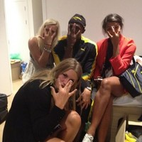 This is how Usain Bolt celebrated his 100m final win...