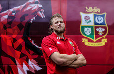 Hole-in-one, looking up to POC, and physical battles - Hill's rise to the Lions