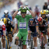 Cavendish storms to second Tour stage win in three days