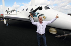 Billionaire Richard Branson set for first space flight with Virgin Galactic