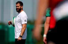 Andy Farrell does not expect to hook up with the Lions in South Africa