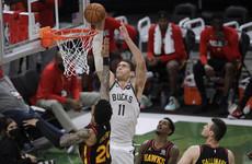 Milwaukee Bucks one game away from NBA finals