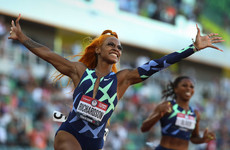 US sprint sensation could miss Olympics after testing positive for marijuana - report
