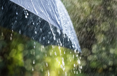 Showery weekend ahead with some thundery downpours expected