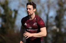 Ex-Munster wing Sweetnam signs for French club Oyonnax