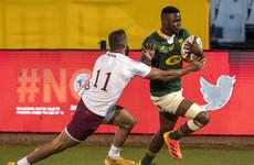 Debutant Fassi scores as world champions South Africa make winning return