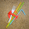 Straws, cutlery and cotton buds among single-use plastics banned from tomorrow