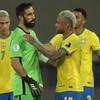 10-man Brazil continue Copa America defence after booking semi-final spot