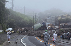 Two bodies found after mudslide sweeps away houses in central Japan