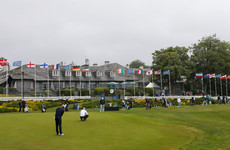 Sharvin the best of the home favourites as Lowry and McIlroy struggle at Irish Open