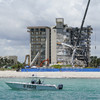 Approaching hurricane hastens demolition of collapsed Miami building despite 126 still missing