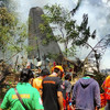 Death toll in Philippines military air crash rises to 29 as rescuers search for survivors