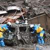 Two people dead and 20 missing after mudslide rips through Japan town