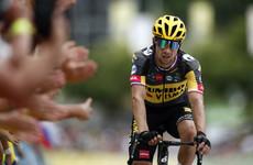 2020 runner-up Primoz Roglic drops out of Tour de France